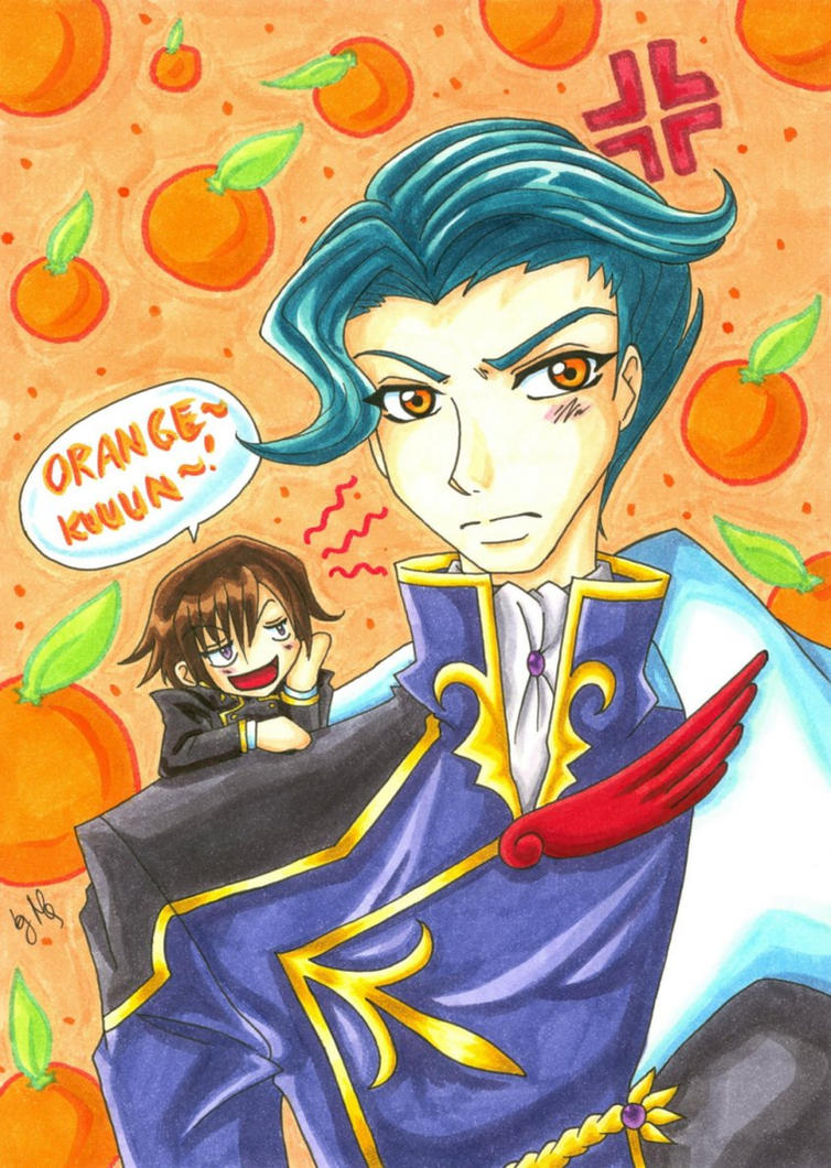 Orangekuuun by Aiko-Mustang