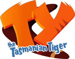 'Ty The Tasmanian Tiger' Logo Recreation Render by KanesTheName