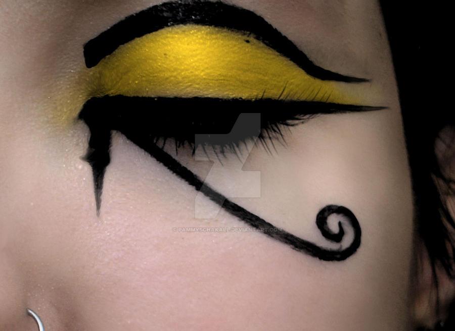 Eye Of Horus Makeup - Cat Eye Makeup