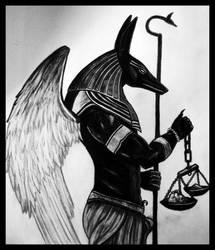 Archangel Michael by Akhenaten-Aten
