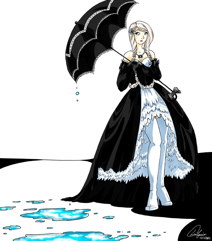 Lady Parasol by Mangacide
