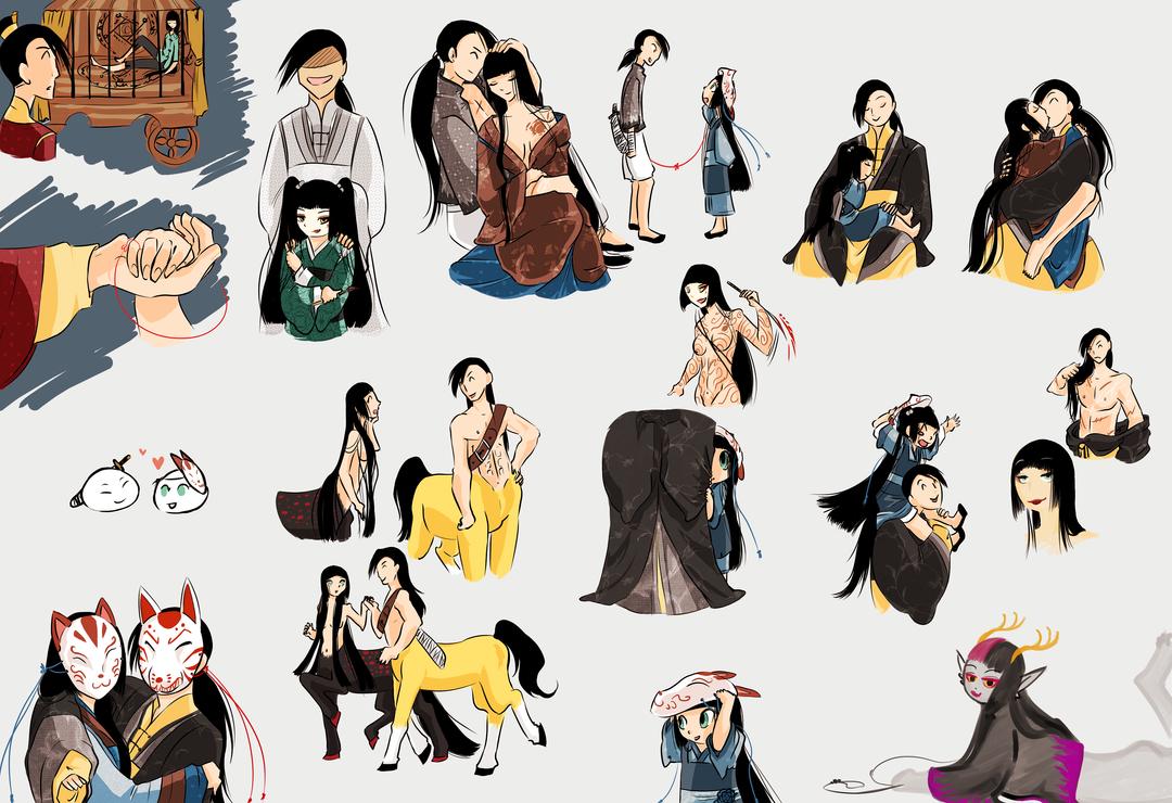 Sketchdump Wonderland - lingvara aus by Mangacide