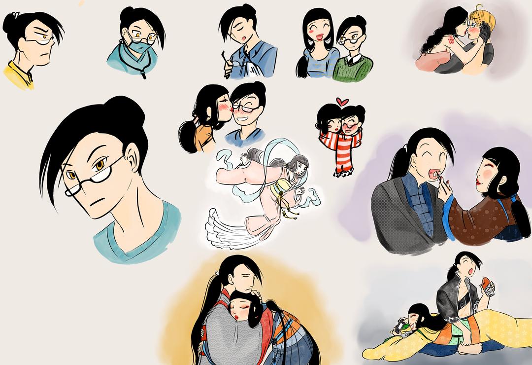 Sketchdump Wonderland - Xili by Mangacide