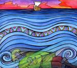 Beneath the Blue Waves