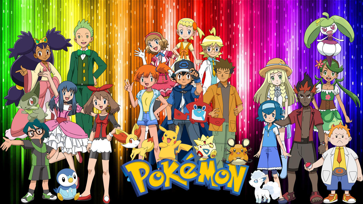 All Anime Characters Pokemon Images