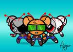 Powerpuff Mice From Mars