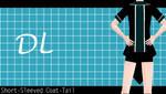 [MMD Download] Short-Sleeved Coat-Tail by RosalinaFuji