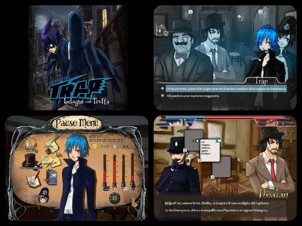 Detective Trap - Screenshots by DeviantMatty95