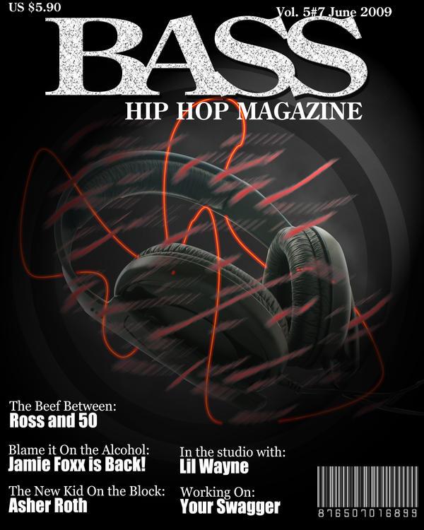 Bass Hip Hop Magazine by thunderkidx