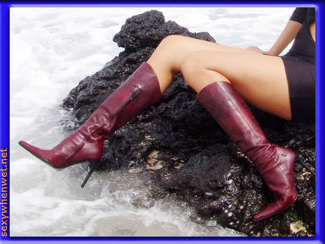 Wet Boots are Sexy Boots