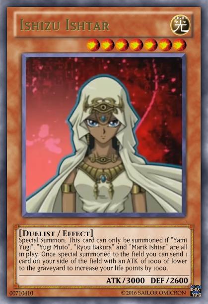 Yu-Gi-Oh! Orica Card : Ishizu Ishtar by SailorOmicron on ...
