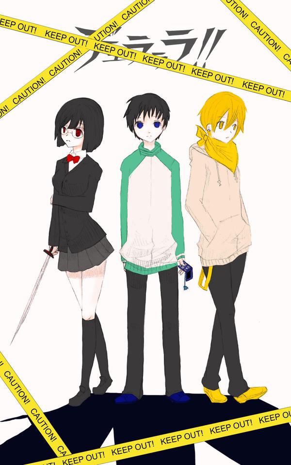 Durarara-Friendship by sanki-chan