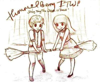 Hummelberry sketch by sanki-chan