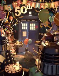 Happy 50th Birthday, Tardis.