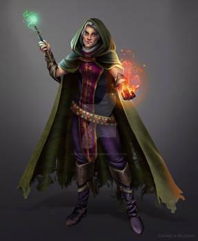 Slytherin Wizard