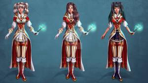 Wizard Uniform Concept