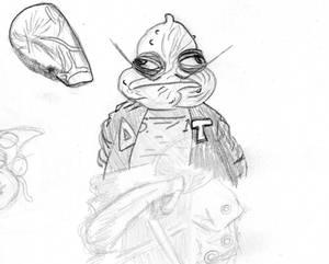 Squidman Sketch