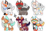 Puppy adopts! [4/6 OPEN] by SparkleYay