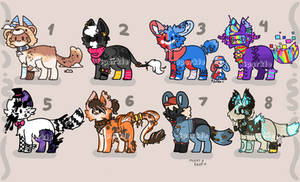 Canine adopts batch [4/8 OPEN]