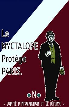 Le Nyctalope Protege Paris after Gess