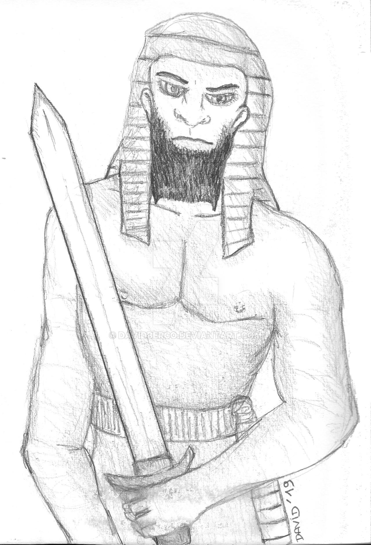 savage arabian sword by DavidBerco
