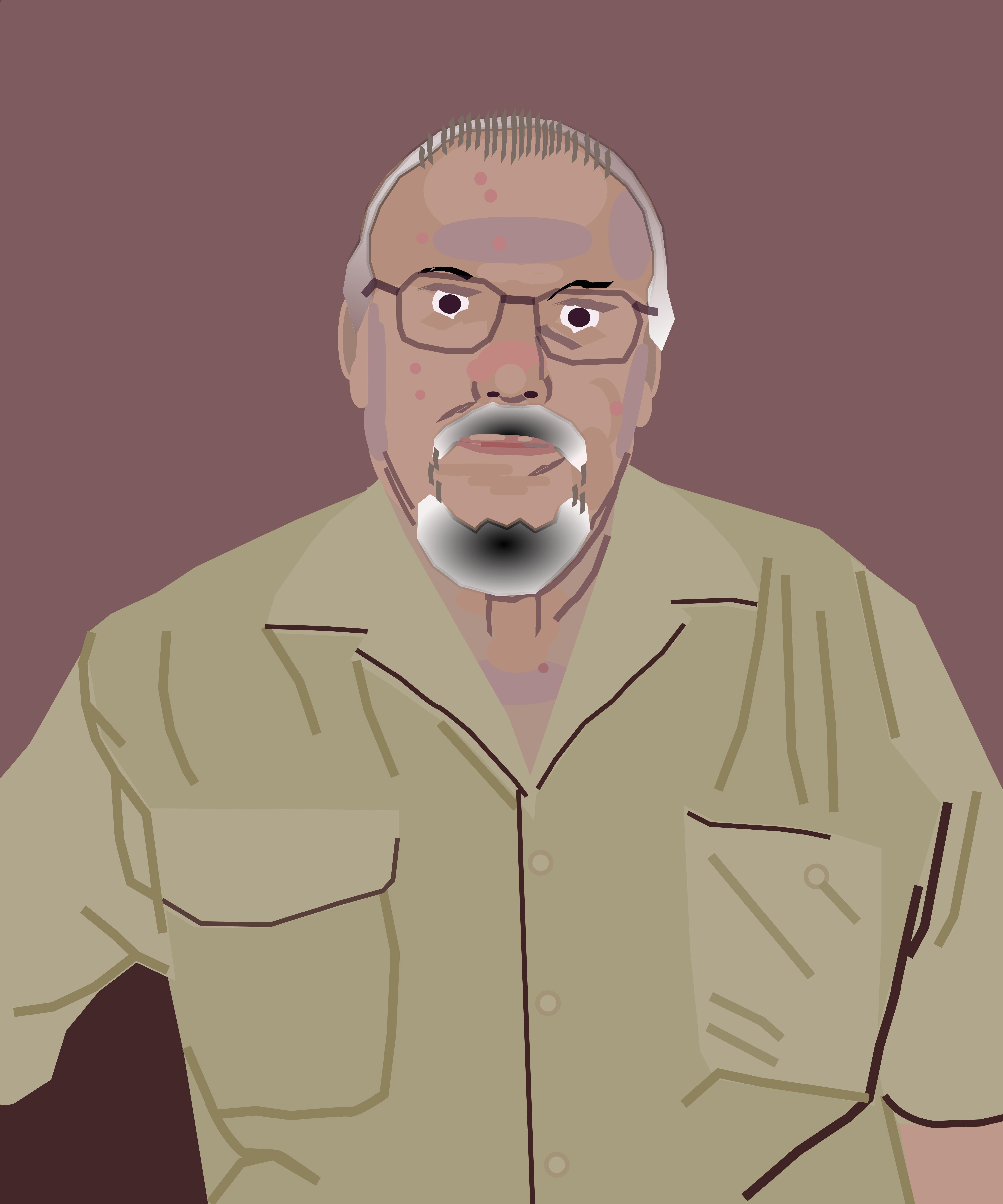 Carlos Gimenez Portrait