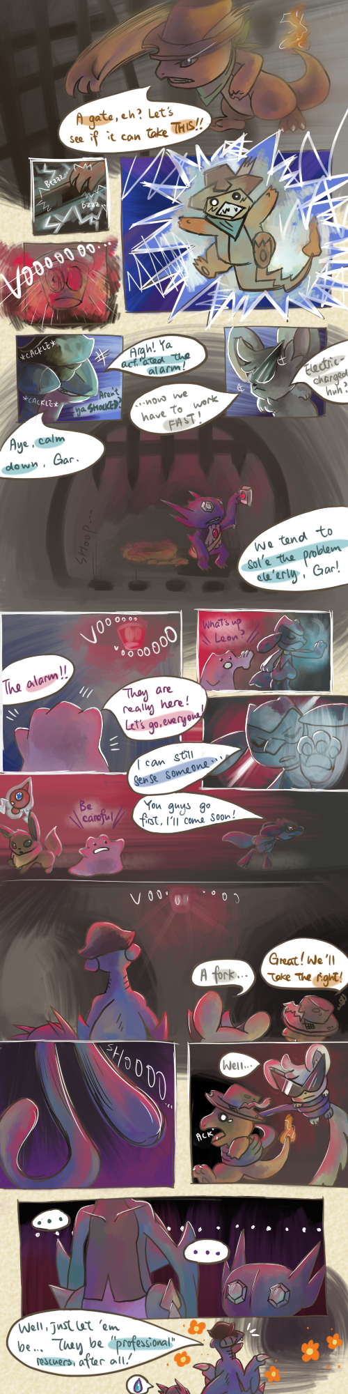 The Masked background story p4 by Haychel