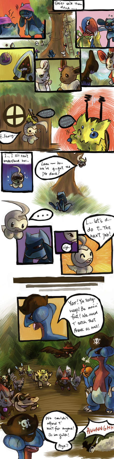 The Masked Mission 2 part 8 by Haychel