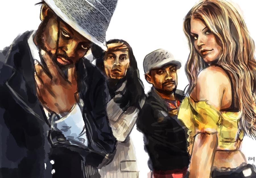 Black Eyed Peas by Haychel