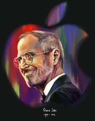 RIP Steve Jobs by Haychel