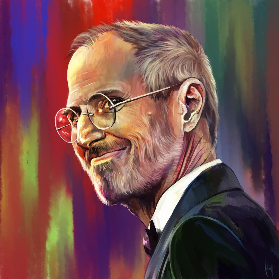 Steve Jobs by Haychel