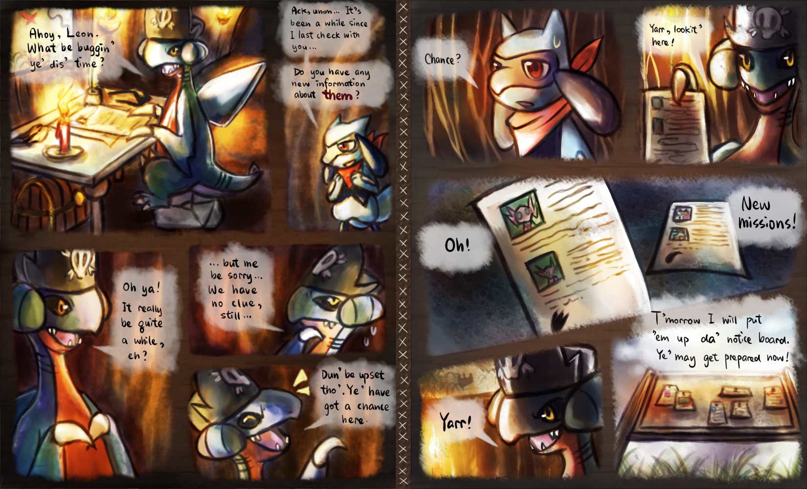 The Masked Mission 4 part 1 by Haychel