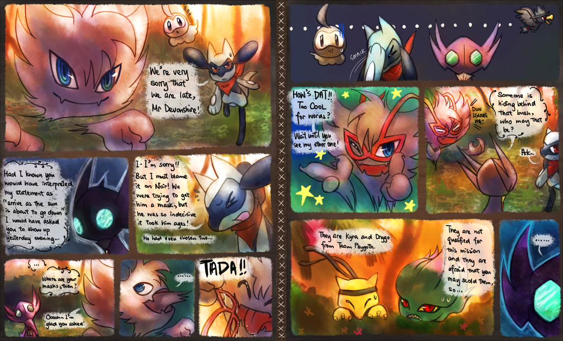 The Masked Mission 4 part 11 by Haychel