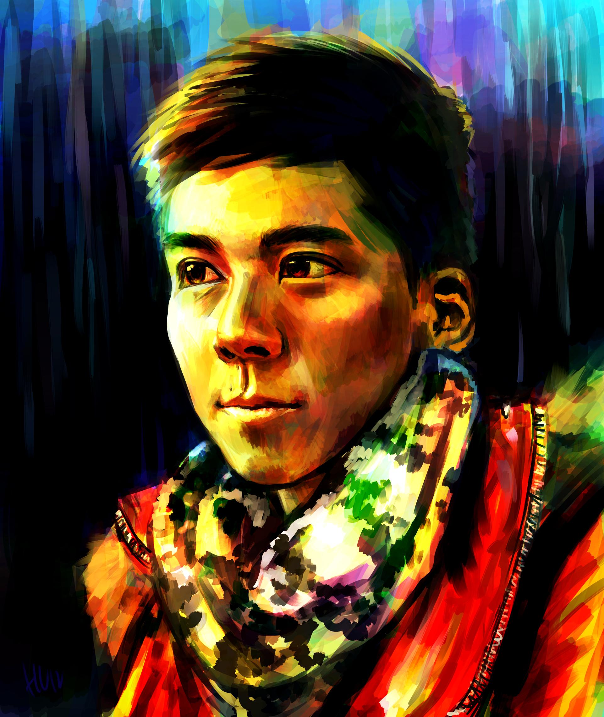 Self Portrait 3 by Haychel