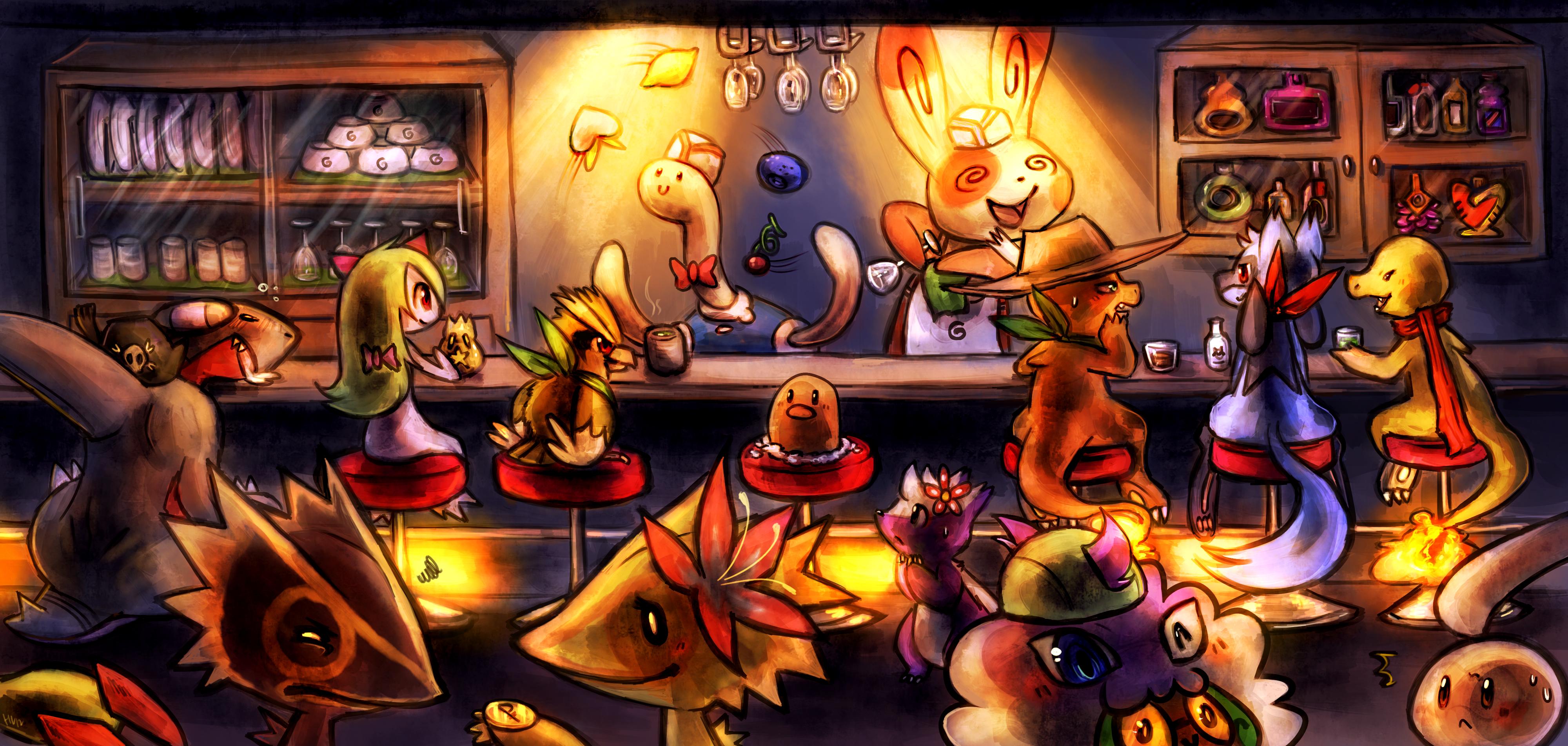 Spinda Cafe by Haychel