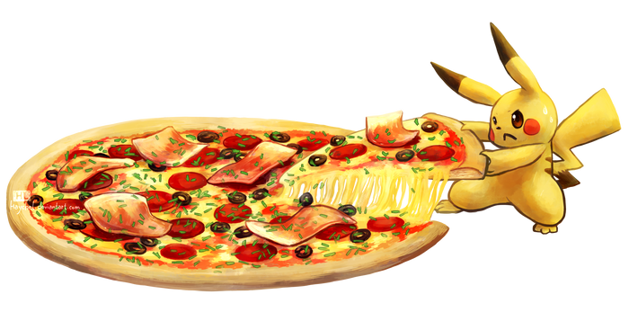Pepperoni Pizza by Haychel