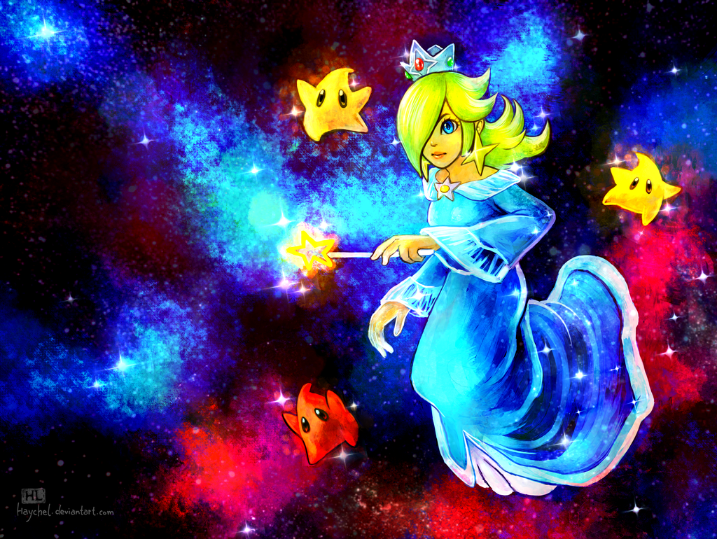 The Queen of Galaxies by Haychel