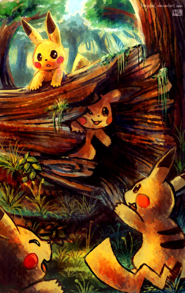 Pikachu playground by Haychel