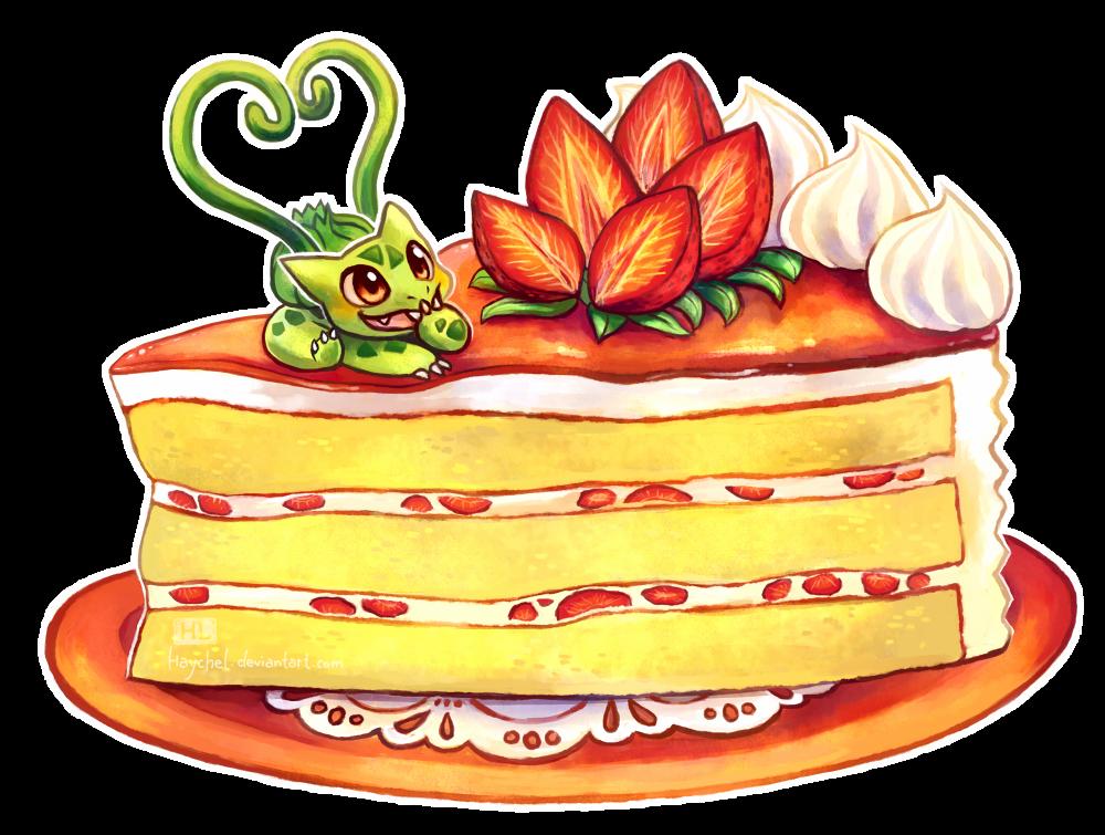 Strawberry Cake by Haychel