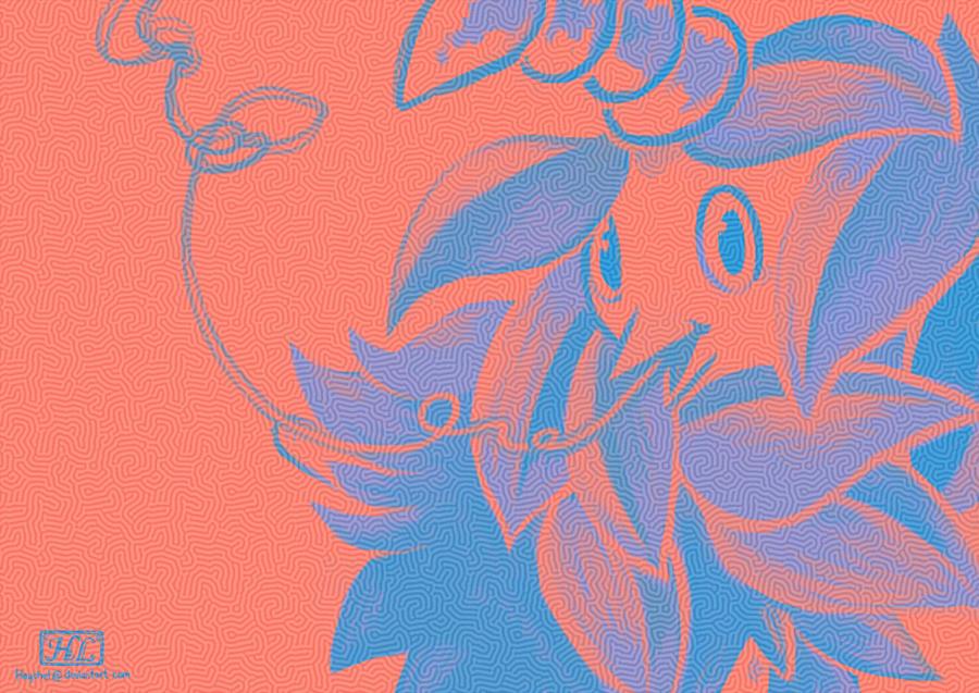Burmy doodle by Haychel
