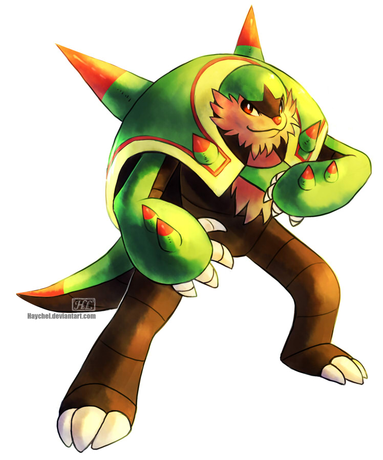 Chesnaught [Alternate palette] by Haychel