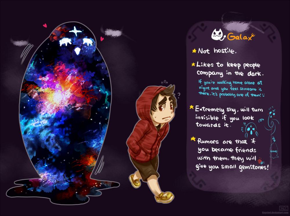 Galax by Haychel