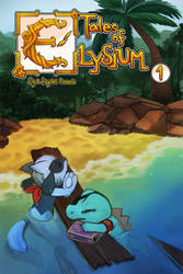 Tales of Elysium Volume 1 Cover by Haychel