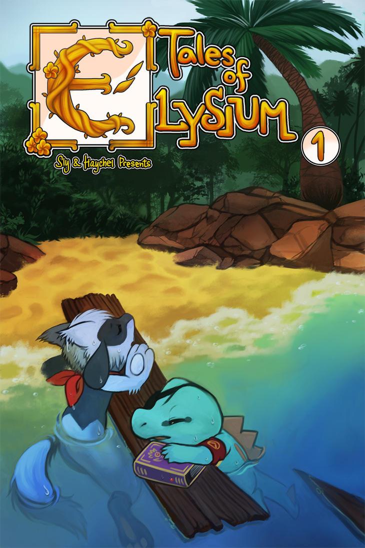Tales of Elysium Volume 1 Cover by Haychel