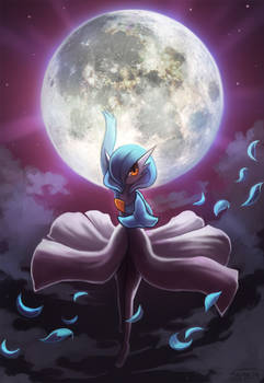 Gardevoir used Moonblast