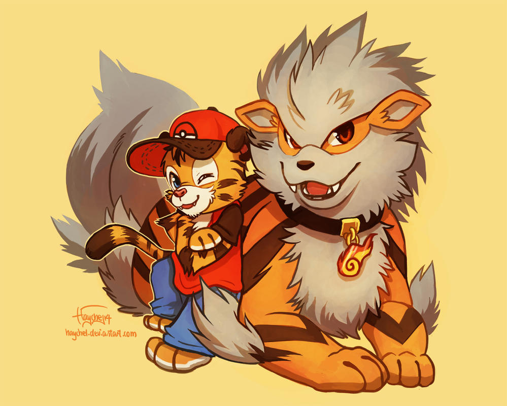 Axel and arcanine by haychel on deviantart - Arcanine pics ...