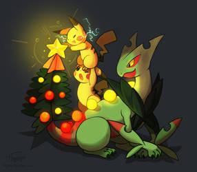 Mega Christmas tree by Haychel