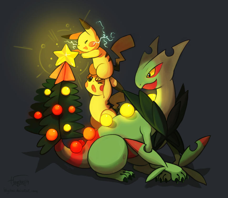 Mega Christmas tree by Haychel on DeviantArt