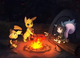 Campfire by Haychel