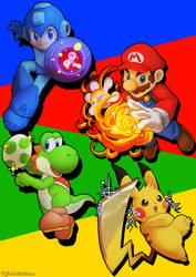 Smash Fighters by Haychel